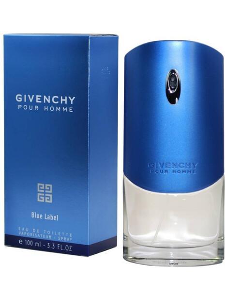 Мъжки парфюми Givenchy Givenchy Pour Homme Blue Label Eau de Toilette 100 ml за мъже 83.25 Pour Homme Blue Labelе парфюм със св
