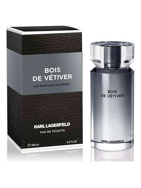 Мъжки парфюми Karl Lagerfeld Karl Lagerfeld Bois de Vetiver Eau de Toilette 100 ml за мъже 42.75 Bois de Vetiver- мъжки парфюм