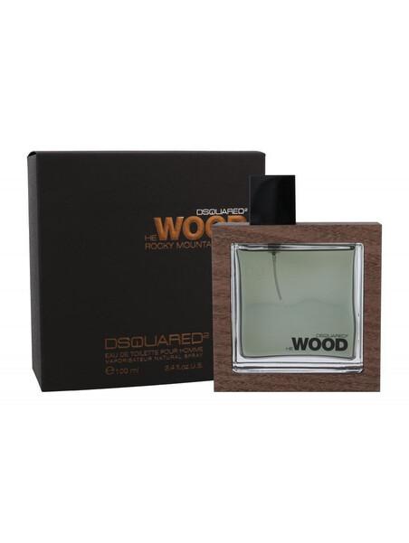 Мъжки парфюми Dsquared2 Dsquared2 He Wood Rocky Mountain Eau de Toilette100 ml за мъже 77.28 He Wood Rocky Mountain е нов арома