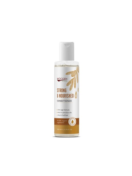 Козметика Wooden Spoon Wooden Spoon Био балсам за суха коса  Strong and nourished 200 ml 8.574966  1