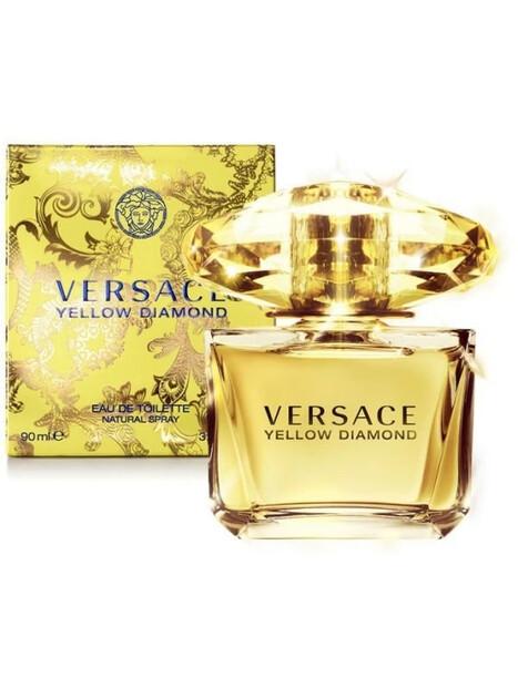 Дамски парфюми Versace Versace Yellow Diamond Eau de Toilette 90 ml за жени 97.44 Yellow Diamond- чист, прозрачен и ефирен цвет