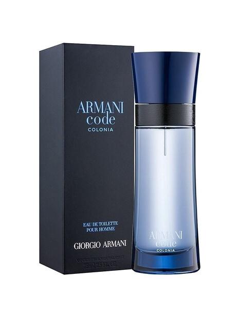 Мъжки парфюми Giorgio Armani Giorgio Armani Code Colonia Eau de Toilette 75 ml за мъже 92.25 Code Coloniaпритежава изтънчен фуж