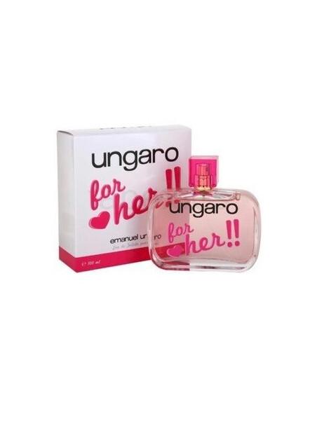 Дамски парфюми Emanuel Ungaro Emanuel Ungaro Ungaro for her Eau de Toilette 100 ml за жени 24.75 Ungaro for her- парфюм с цвет