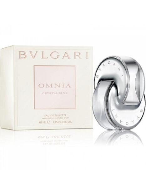 Дамски парфюми Bvlgari Bvlgari Omnia Crystalline Eau de Toilette за жени 40 ml 64.5 Omnia Crystallineе луксозен и възхитителен