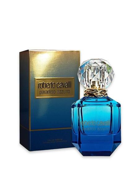 Дамски парфюми Roberto Cavalli Roberto Cavalli Paradiso Azzurro Eau de Parfum 75 ml за жени 58.5 Paradiso Azzurroе парфюм с фло