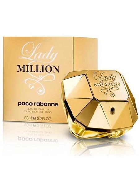 Paco Rabanne Lady Million Eau de Parfum  за жени 80 ml Paco Rabanne 118.499999 1Дамски парфюми