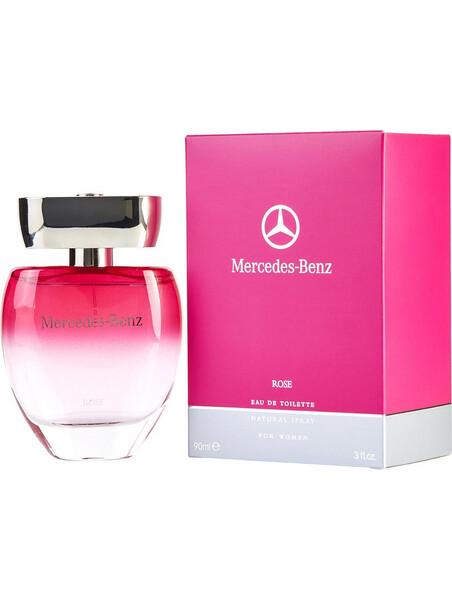 Дамски парфюми Mercedes Benz Mercedes-Benz Rose Eau de Toilette 90 ml за жени 68 Roseе парфюм , с изразен флорален аромат. Изли
