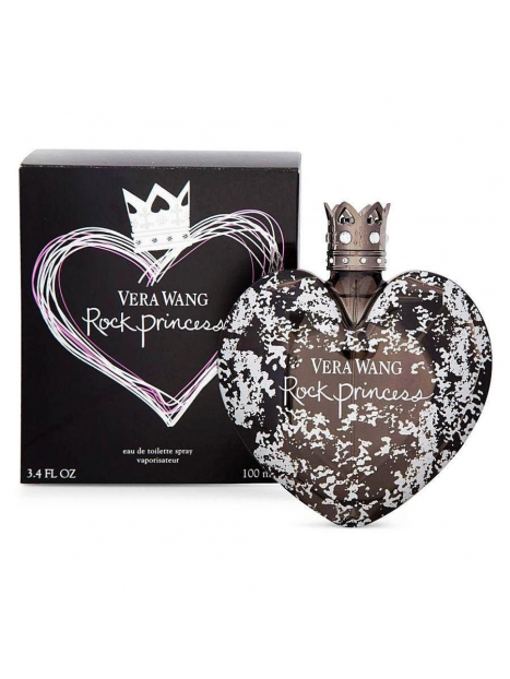Дамски парфюми Vera Wang Vera Wang Rock Princess Eau de Toilette 100 ml за жени 33.75 Rock Princess- парфюм с флорално-плодов
