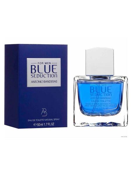 Мъжки парфюми Antonio Banderas Antonio Banderas Blue Seduction For Men Eau de Toilette 50 ml за мъже 21.75 Blue Seduction For M