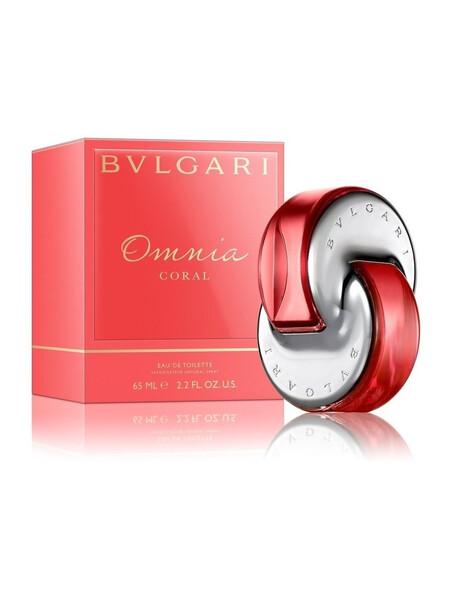 Дамски парфюми Bvlgari Bvlgari Omnia Coral Eau de Toilette 65 ml за жени 74.25 Omnia Coral- романтичен парфюм, с цветно-плодов