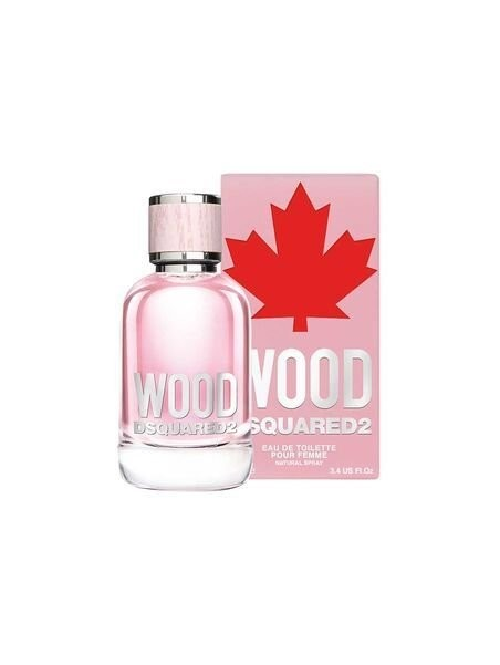 Dsquared2 Wood for Her Eau de Toilette 100 ml за жени Dsquared2 - 1