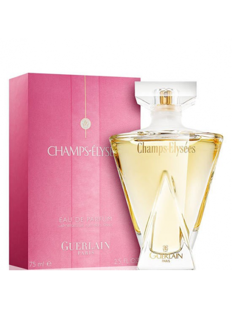 Дамски парфюми Guerlain Guerlain Champs-Elysees Eau de Parfum 75 ml за жени 91.5 Champs-Elyseesе парфюм с цветно-плодов аромат.