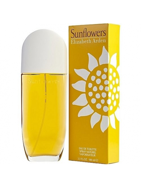 Дамски парфюми Elizabeth Arden Elizabeth Arden Sunflowers Eau de Toilette 100 ml за жени 21.75 Sunflowers- чувствен парфюм, с ц