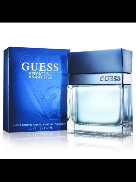 Guess Seductive Homme Blue Eau de Toilette 100 ml за мъже Guess 33.6 1Мъжки парфюми