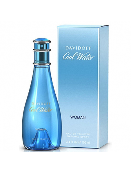 Davidoff Cool Water Woman Eau de Toilette 100 ml за жени Davidoff - 1