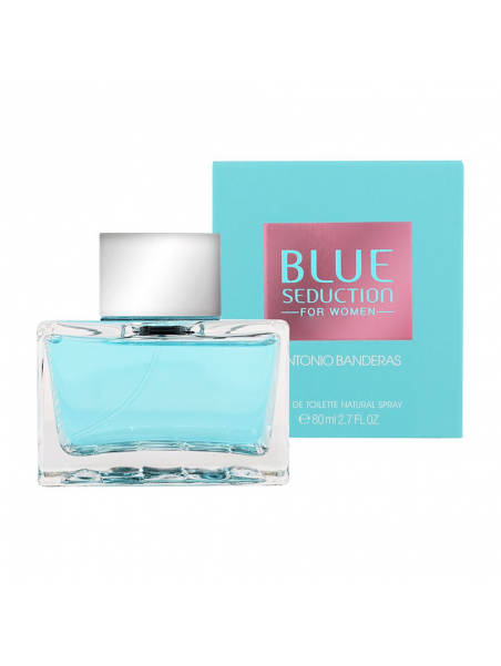 Antonio Banderas Blue Seduction For Women Eau de Toilette  80 ml за жени Antonio Banderas - 1