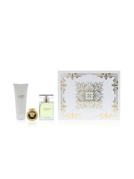 Подаръчни комплекти Versace Versace Vanitas EDT 100 ml + BL 100 ml + Key Chain Gift Set за жени 63.000001  1