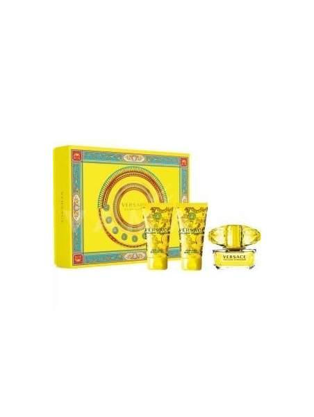 Versace Yellow Diamond EDT 50 ml + SG 50 ml + BL 50 ml Gift Set за жени Versace - 1