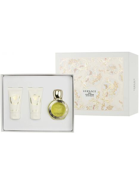 Versace Eros pour Femme EDT 50 ml + SG 50 ml + BL 50 ml Gift Set за жени Versace 78.000001 1Дамски комплекти