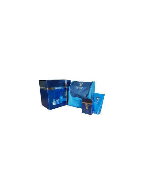 Trussardi  A Way for Him Gift Set EDT 50 ml + SG 100 ml + cosmetic bag за мъже Trussardi - 1