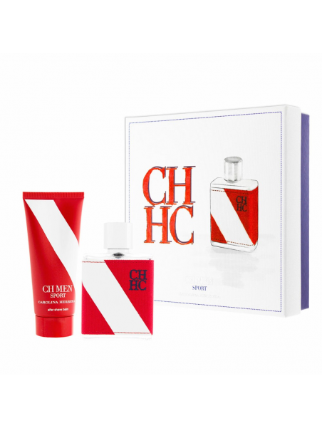 Подаръчни комплекти Carolina Herrera Carolina Herrera CH Men Sport EDT 100 ml + ASB 100 ml Gift Set за мъже 54.750001 Комплектът