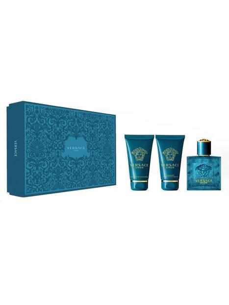 Versace Eros EDT 50 ml + ASB 50 ml + SG 50ml Gift Set за мъже Versace 79.000001 1Мъжки комплекти