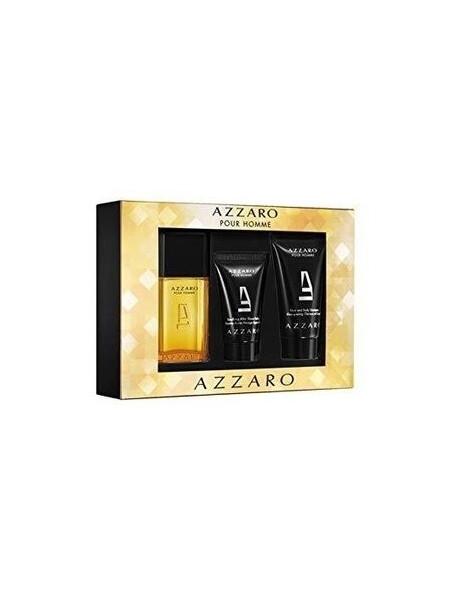 Azzaro Pour Homme EDT 30 ml+ASB 30 ml+SG 75ml  Gift Set за мъже Azzaro 42 1Мъжки комплекти