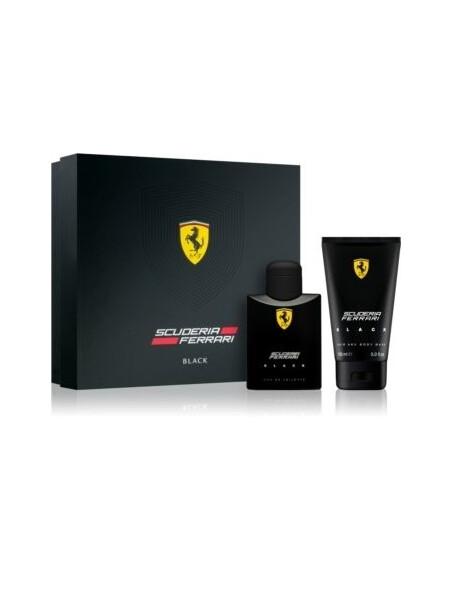 Ferrari  Ferrari Scuderia Black Gift Set EDT 75 ml + SG Ferrari Scuderia Black 150 ml Ferrari 37.000001 1Мъжки комплекти