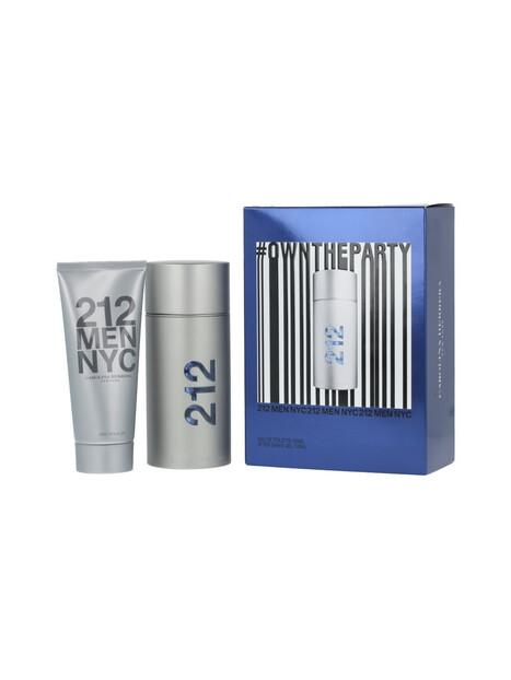 Carolina Herrera 212 Men Gift Set EDT 100 ml + ASG 212 Men 100 ml  за мъже Carolina Herrera 122 1Мъжки комплекти