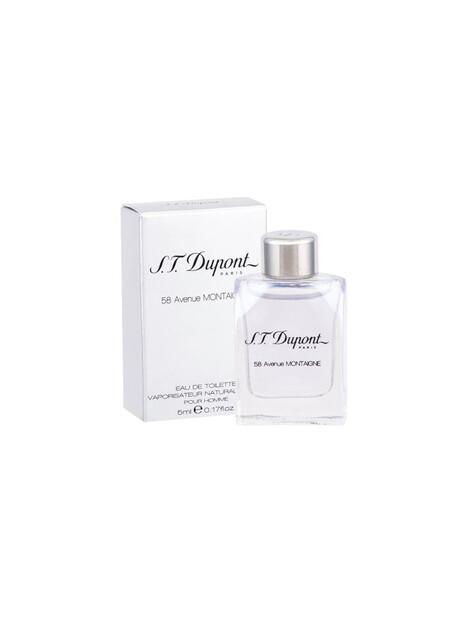 Мъжки парфюми S. T. Dupont S.T. Dupont 58 Avenue Montaigne Eau de Toilette Miniature 5 ml за мъже 3.7425 58 Avenue Montaigne Pou