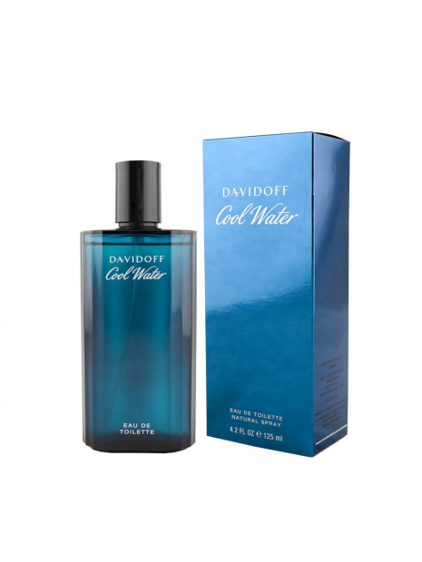 Davidoff Cool Water Men Eau de Toilette 125 ml за мъже Davidoff - 1