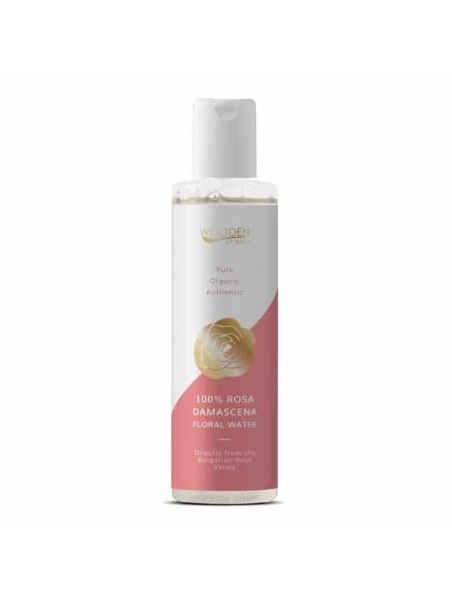 Wooden Spoon Био Флорална вода 100% Rosa Damascena 200 ml Wooden Spoon - 1
