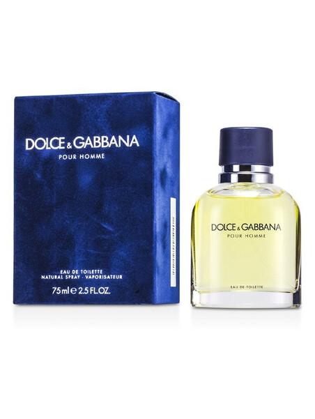 Dolce&Gabbana Pour Homme Eau de Toilette 75 ml за мъже Dolce&Gabbana - 1