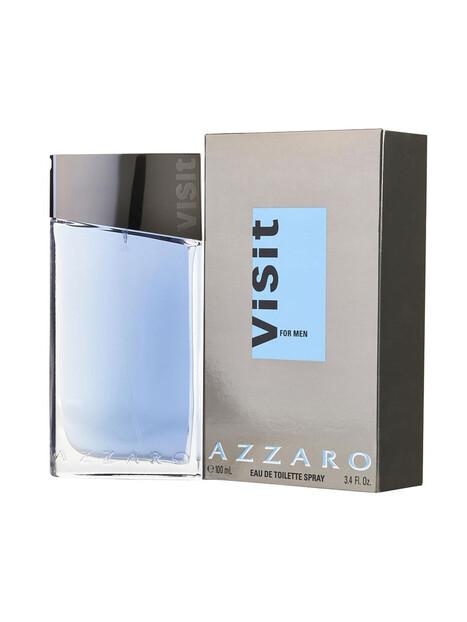 Мъжки парфюми Azzaro Azzaro Visit Eau de Toilette 100 ml за мъже 36.75 Visit- мъжки парфюм с дъвесно-пикантен аромат. Излиза на