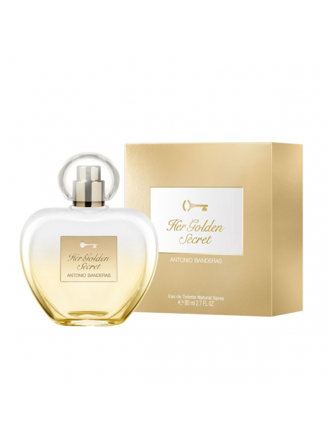 Дамски парфюми Antonio Banderas Antonio Banderas Her Golden Secret Eau de Toilette 80 ml за жени 29.25 Her Golden Secretе тайн