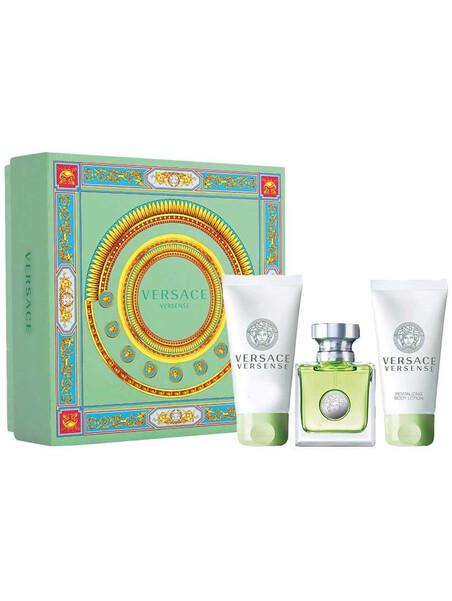 Versace Versense EDT 50 ml + SG 50 ml + BL 50ml Gift Set за жени Versace 66.75 1Дамски комплекти