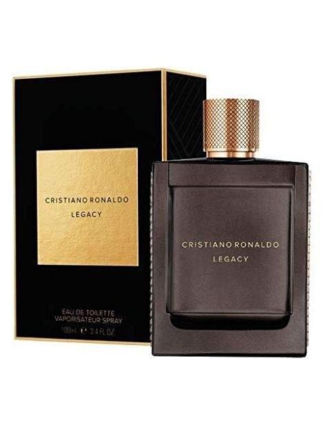 Мъжки парфюми Cristiano Ronaldo Cristiano Ronaldo Legacy Eau de Toilette 100 ml за мъже 49.5 Legacyе освежаващ и луксозен мъж