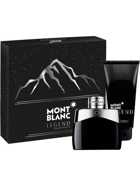 Montblanc Legend Eau de Toilette 50 ml + SG 100 ml за мъже Montblanc 57 1Мъжки комплекти