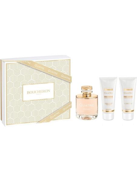 Boucheron Quatre Pour Femme Eau de Parfum 50 ml + BL 50 ml + SG 50 ml за жени Boucheron 61.5 1Дамски комплекти