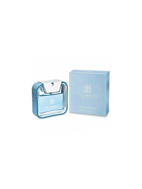 Мъжки парфюми Trussardi Trussardi Blue Land Eau de Toilette 30 ml за мъже 34.5 Blue Land- парфюм със свеж цитрусов и дървесен а